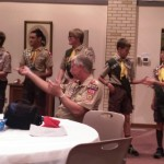 Troop 608's new leaders for the new year!